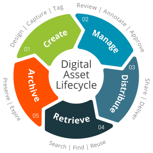 Digital-asset-lifecycle